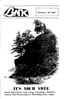 The Link Newspaper 1973-01-30