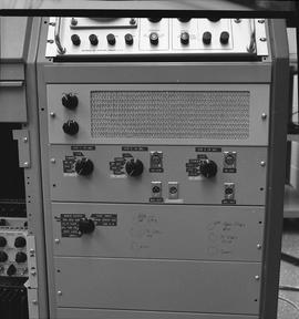 British Columbia Institute of Technology Broadcasting ; 1960s ; speaker and audio control panel