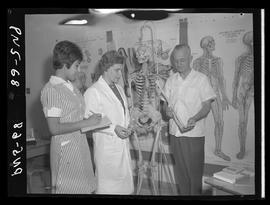 BCIT practical nursing students and staff in 1968 [5 of 6 photographs]