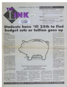 The Link Newspaper 1994-03-23