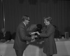 Student Scholarship Awards, BCIT, 1971 [60]