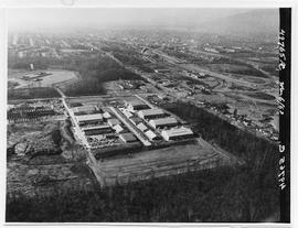 Aerial Photograph of BCIT, Burnaby campus March 6, 1963 [1 of 3 photographs]