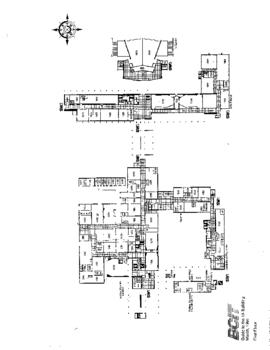 SW01 and SW03, Facilities inventory Burnaby, formerly building 1A, floor plan, March 1991