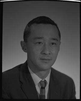Tang, Eugene, Chemistry, Staff portraits 1965-1967 (E) [1 of 4 photographs]