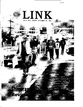 The Link Newspaper 1970-09-29