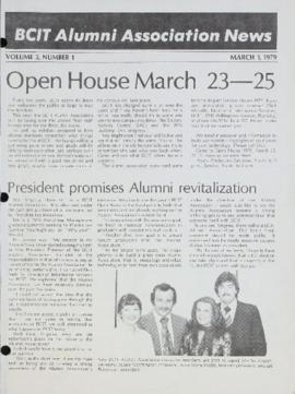BCIT Alumni Association News March 1, 1979