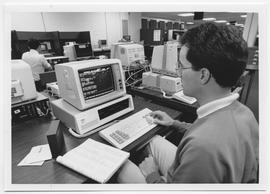 British Columbia Institute of Technology - BCIT Library - Student computer workstation - 1988