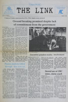 The Link Newspaper 1988-10-05