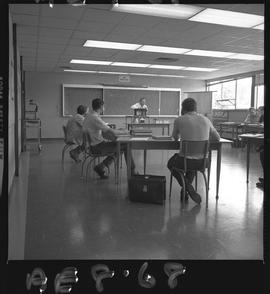 BC Vocational School image of Aeronautical students and an instructor in a classroom [4 of 4 phot...