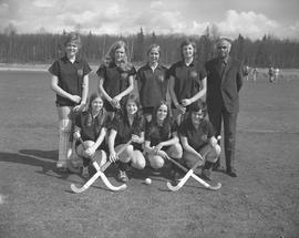 BCIT women's field hockey team, 1971