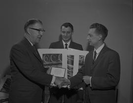 Forestry presentation at BCIT, April 5, 1966; Fenton, Heath, Elston [1 of 3]