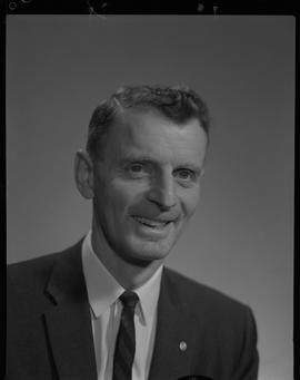 Heath, Victor, Head of Forestry and Forest Products Utilization Staff portraits 1965-1967 (E) [3 ...
