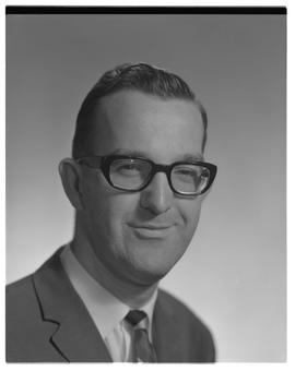 Cameron Barnetson, Chemistry, head shot, Staff portraits 1965-1967 (E) [1 of 4 photographs]
