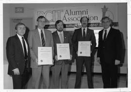 Ach Awards, A. News, Peter Crowder and Roy Murray (both on far right)