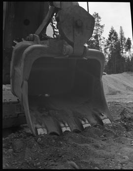Heavy duty equipment operator, Nanaimo ; bucket of an excavator