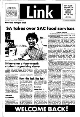 The Link Newspaper 1978-09-05