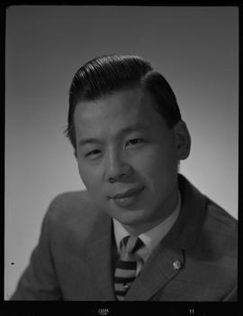Liu, Ray, Chemistry and Metallurgy, Staff portraits 1965-1967 (E) [4 of 4 photographs]