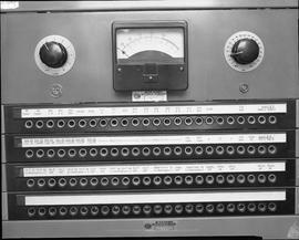 British Columbia Institute of Technology Broadcasting ; 1960s ; RCA input-output board