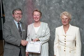 BCIT Staff Recognition Awards, 1996 ; Susan Ney, 10 years
