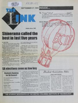 The Link Newspaper 1995-09-27
