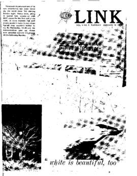 The Link Newspaper 1971-01-19