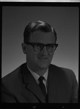 Kerr, Rod, Forestry, Staff portraits 1965-1967 (E) [3 of 5 photographs]