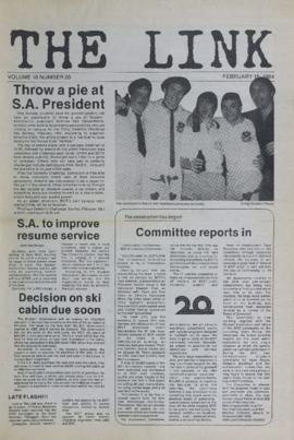 The Link Newspaper 1984-02-15