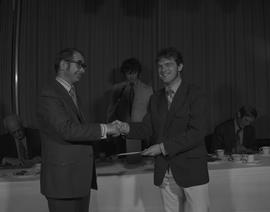 Student Scholarship Awards, BCIT, 1971 [12]