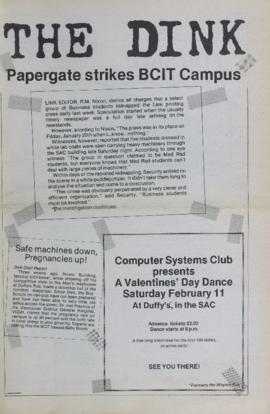 The Link Newspaper 1984-02-01 The Dink