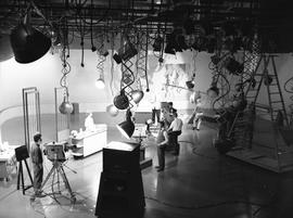 BCIT Broadcast and Television, 1964; television studio [2 of 3]