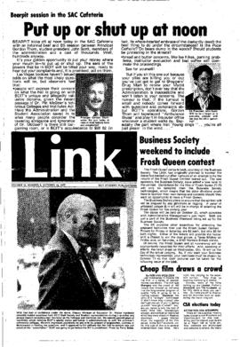 The Link Newspaper 1977-10-12