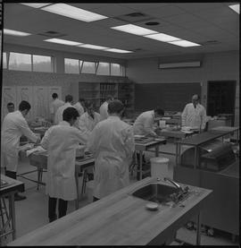Hotel Motel Restaurant Administration Program; students in a classroom preparing food [1 of 11]