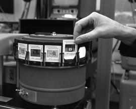 British Columbia Institute of Technology Broadcasting ; 1960s ; photograph projector