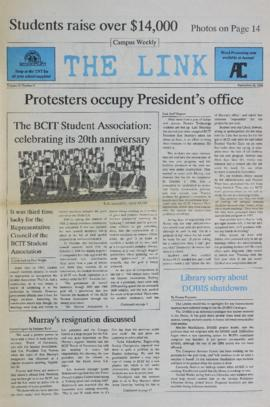 The Link Newspaper 1988-09-28