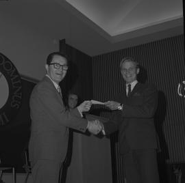 Student Scholarship Awards, BCIT, 1970 [13]