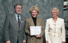BCIT Staff Recognition Awards, 1996 ; Doreen Wilkinson, 10 years
