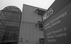 NE25 Applied Technology Training Centre, photographs of building, 1995 [2 of 17 photographs]