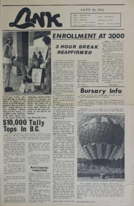 The Link Newspaper 1972-09-28
