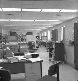 BCIT Library ; employee office area [1 of 4]
