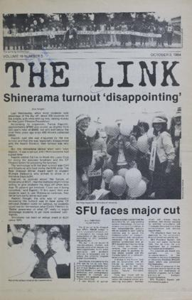 The Link Newspaper 1984-10-03