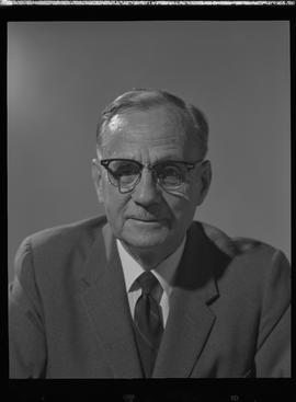 Fairey, F. T., Deputy Minister of Education, Staff portraits 1965-1967 (E) [2 of 3 photographs]