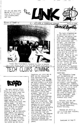 The Link Newspaper 1966-04-15