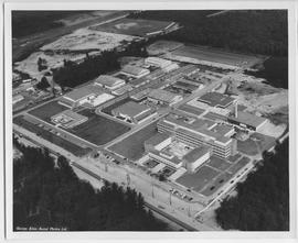 Aerial photograph of BCIT on August 24, 1964