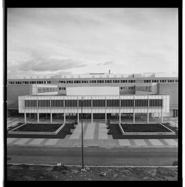 1960's Early construction of BCIT campus and buildings [16 of 21 photographs]
