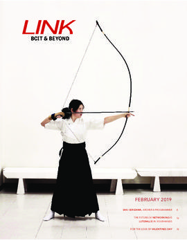 Link magazine February 2019 BCIT & Beyond