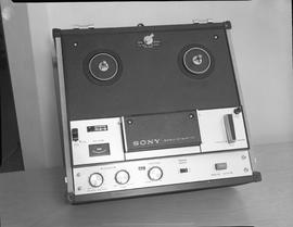 British Columbia Institute of Technology Broadcasting ; 1960s ; Sony-o-matic reel-to-reel tape re...