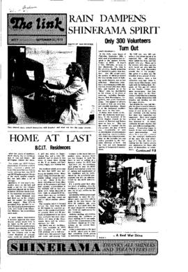 The Link Newspaper 1973-09-27