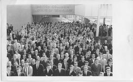 BCIT's First Student Body; March 1965