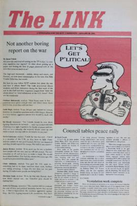The Link Newspaper 1991-01-29