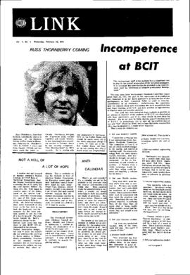 The Link Newspaper 1972-02-23